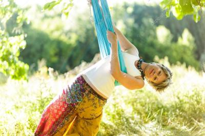Aerial Yoga, Gravitational Security & Your Vestibular System
