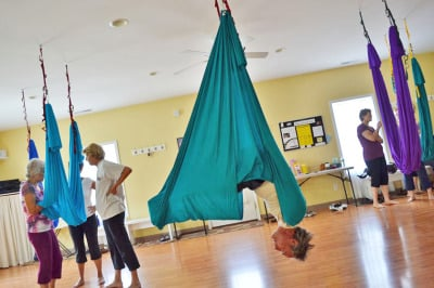 Inversions Reverse the Aging Force of Gravity